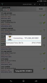 Wifi WPS Unlocker apk تصوير الشاشة
