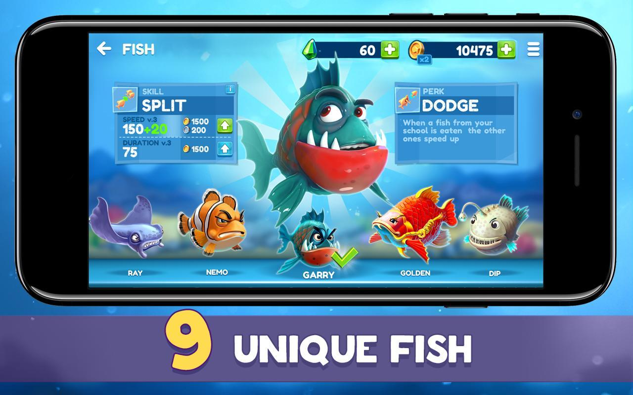 Fish new online game pvp battle apk baixar for Fish io games