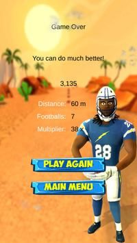 Melvin Gordon Football Rush apk screenshot