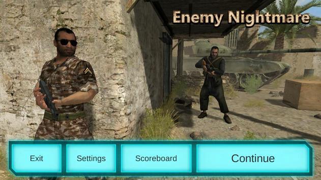 Enemy Nightmare Shooting Games poster