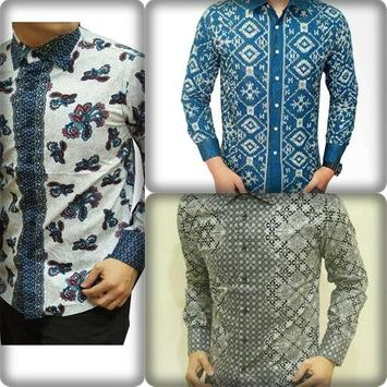 Batik Shirt Design Modern Man apk screenshot