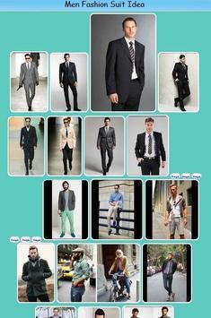 Men Fashion Suit Idea poster