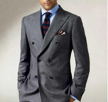 Men Fashion Suit Idea screenshot 3