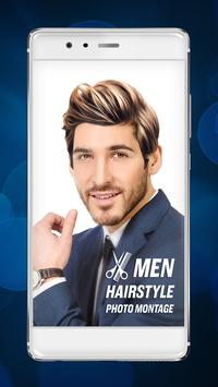 Men Hairstyle Photo Montage poster