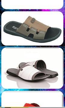 Men Sandals Design Ideas apk screenshot