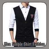 Men Simple Shirt Fashion icon