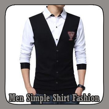 Men Simple Shirt Fashion poster