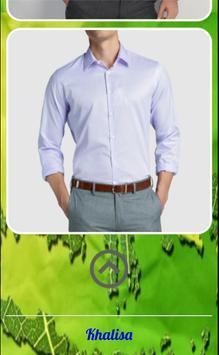 Men Simple Shirt Fashion screenshot 2