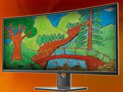 Drawing a scenery screenshot 4
