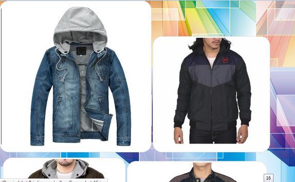 Design of Men's Jacket apk screenshot