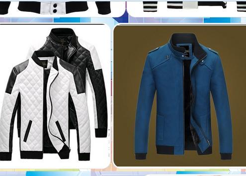 Men's Jacket Design screenshot 1