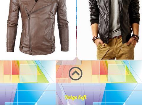 Men's Jacket Design screenshot 2