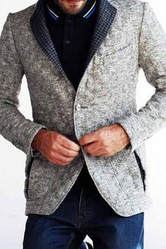 Men's Jacket Fashion Idea screenshot 3