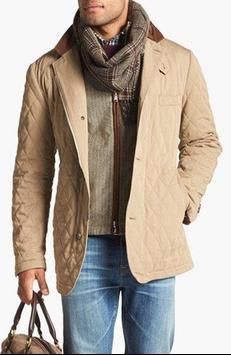 Men's Jacket Fashion Idea poster