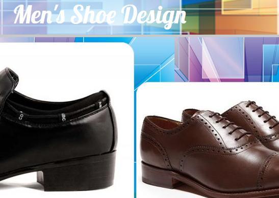 Men's Shoe Design poster
