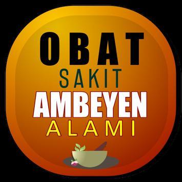 Obat Ambeyen Alami Ampuh poster