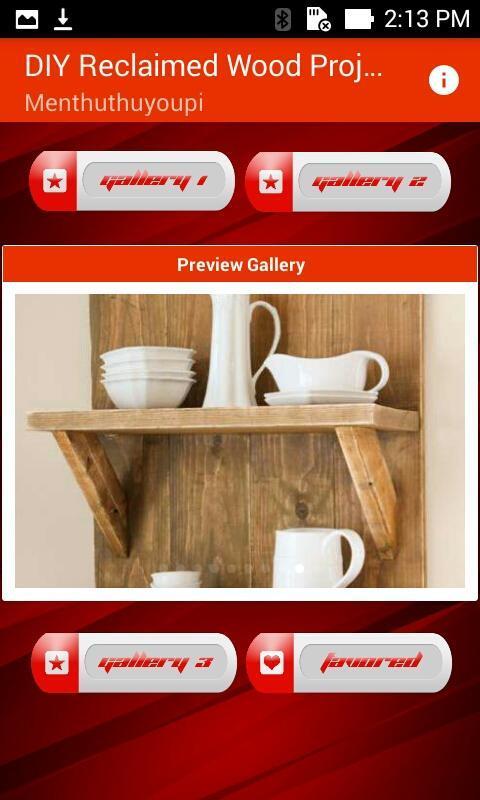 Ideas de diseño de proyectos de madera reciclada for Android - APK ...
