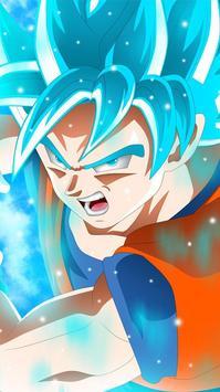 Goku Super Saiyan God Blue Wallpaper HD Screenshot 5