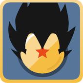 Battle of Saiyan War - Online ícone