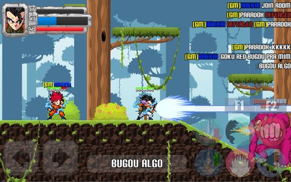 Saiyan Arena Online - Beta apk imagem de tela