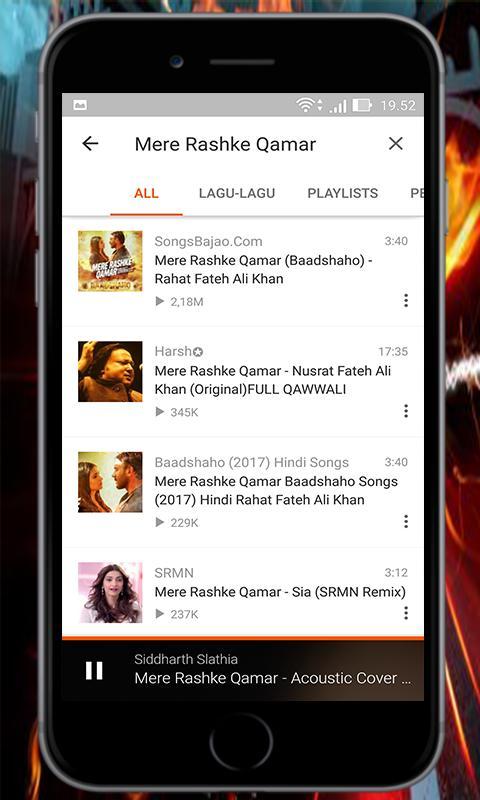 Mere Rashke Qamar Mix Songs For Android Apk Download