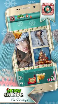 Photo Collage Christmas Cards poster