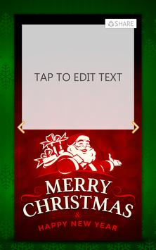 Merry Christmas Greeting Cards apk screenshot