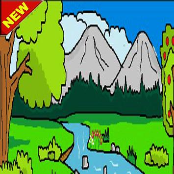 Learn to color the best scenery screenshot 1