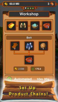 Idle Crafting Kingdom screenshot 1
