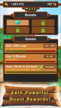 Crafting Kingdom - Strategic Idle Tycoon apk screenshot