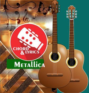 Guitar Chord Metallica poster