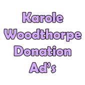 Karole Woodthorpe fundraising icon