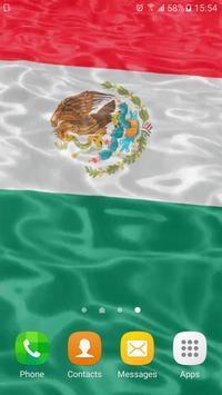 Mexican Flag Live Wallpaper apk screenshot