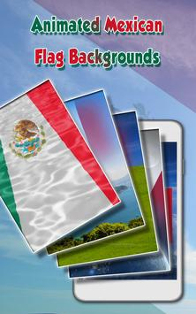 Mexican Flag Live Wallpaper poster