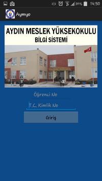 Aydın Meslek Yüksek Okulu poster
