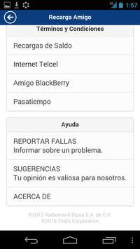 Recarga Amigo apk screenshot