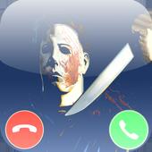 Michael Myers fake call prank icon