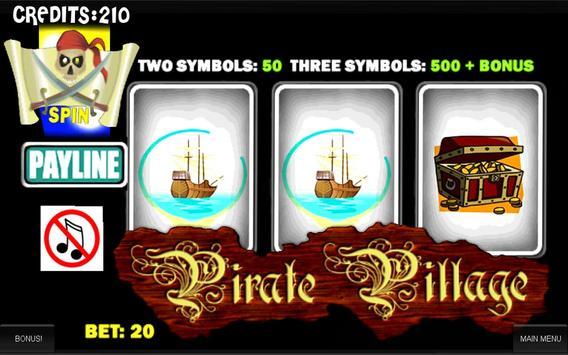 Pirate Slot Machine poster