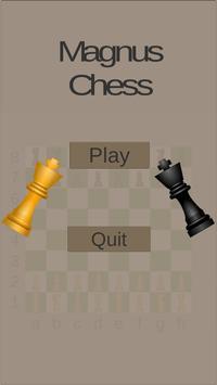 Magnus chess poster