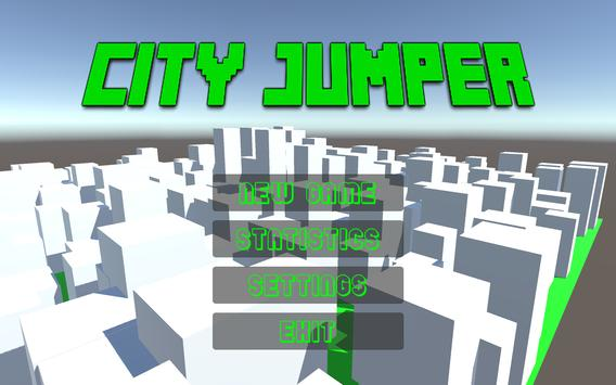 City Jumper 3D poster