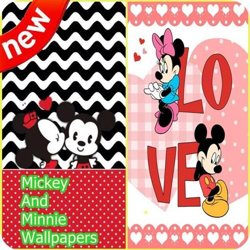 Mickey And Minnie Mouse Wallpapers Poster