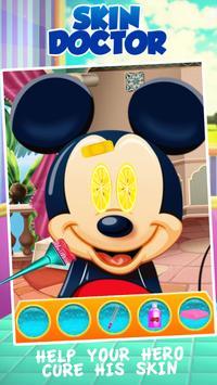 Mickey Skin Doctor Game screenshot 1