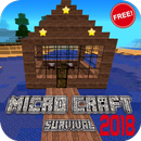 Micro Craft 2018: Survival Free icon