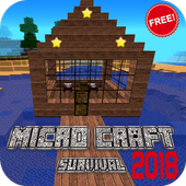 Micro Craft 2018: Survival Free icon