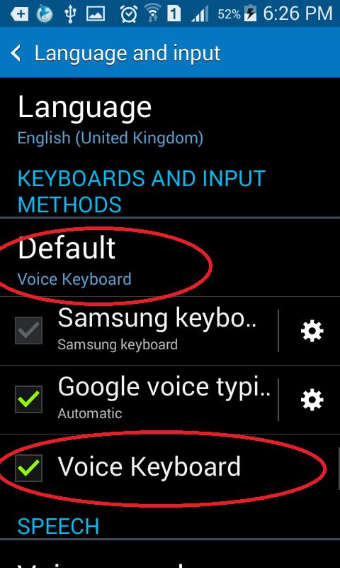 Voice Keyboard for Android - APK Download