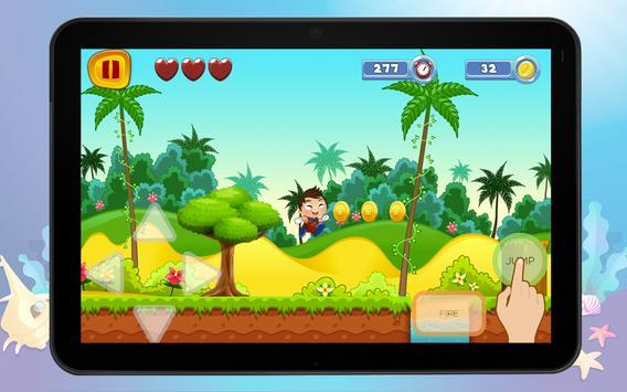 Super Bubble World Guppies Sandy Game screenshot 2
