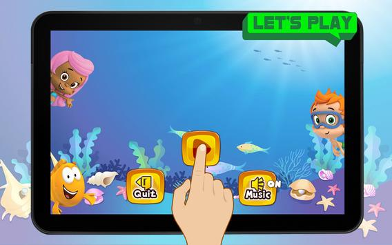 Super Bubble World Guppies Sandy Game screenshot 4