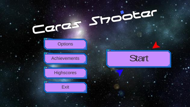 Ceres Shooter poster