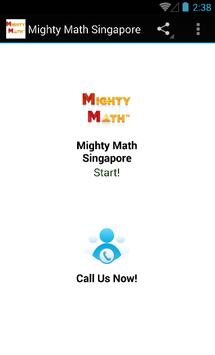 Singapore Mighty Math poster