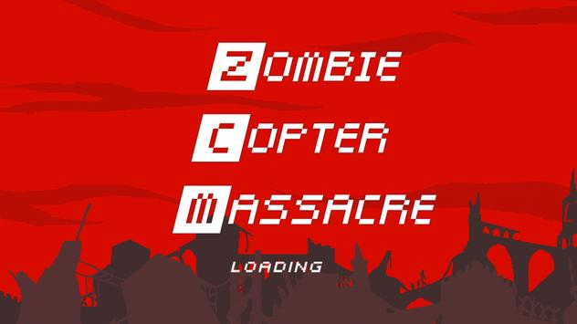 Zombie Copter Massacre poster